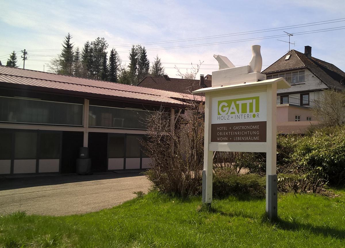 Firmengebäude Gatti in Grafenhausen