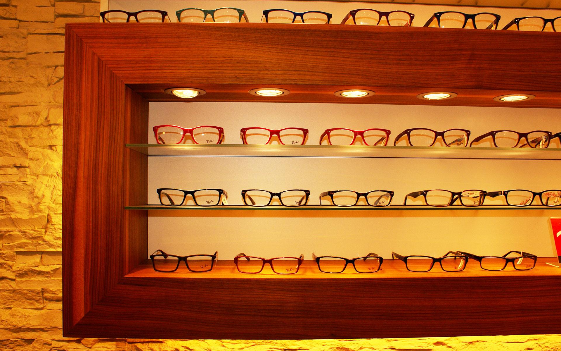Präsentation der Brillen