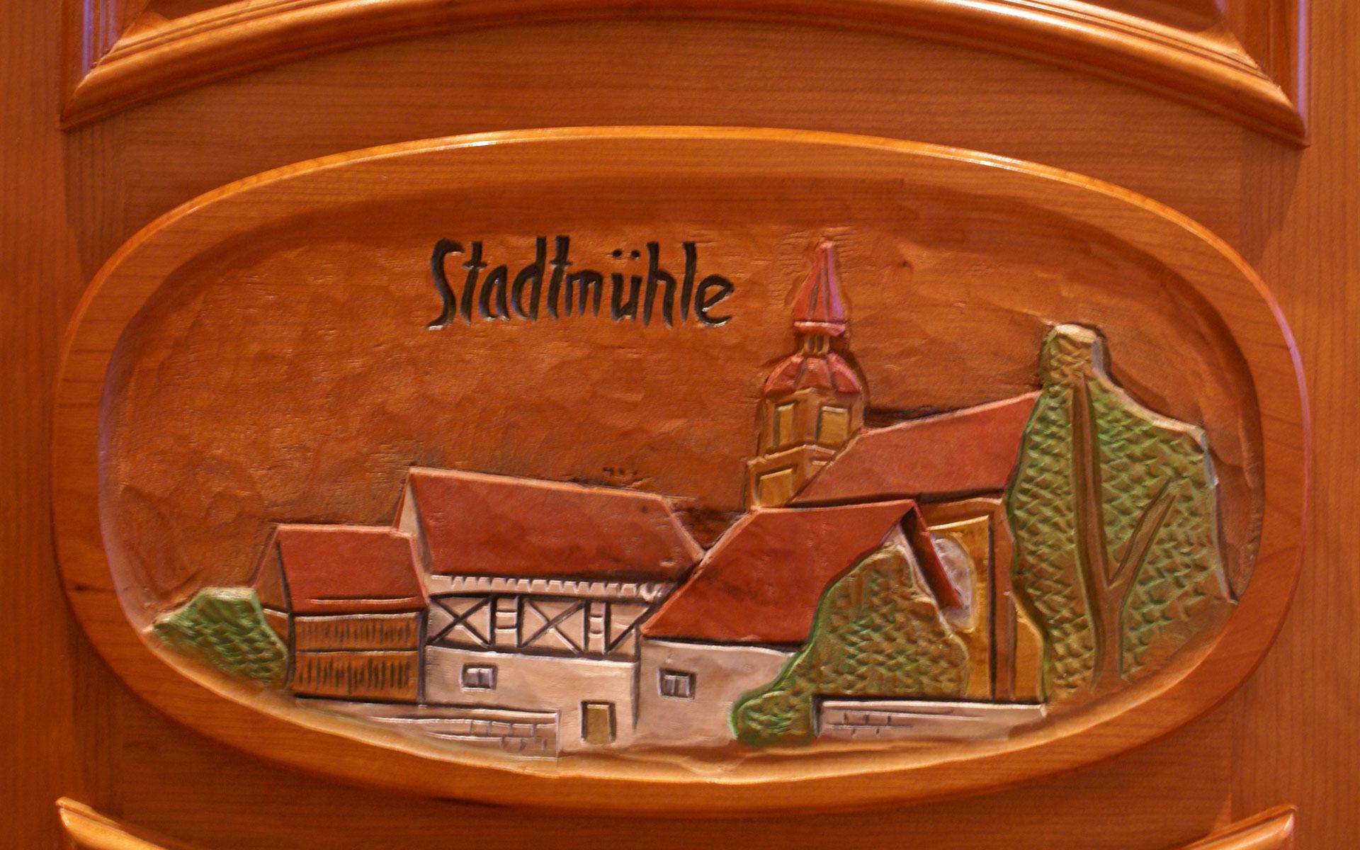 Schnitzerei Detail